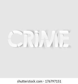 realistic design element: crime