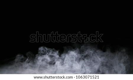 Realistic dry ice smoke