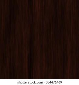 Realistic Seamless Natural Dark Wood Texture Stock Illustration