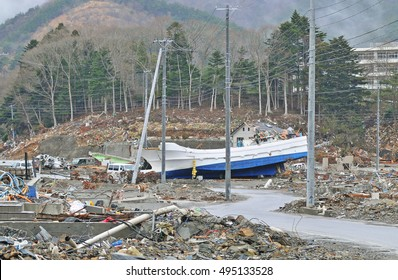 Reality of the tsunami disaster of the Aftermath of the 2011 Tohoku earthquake and tsunami