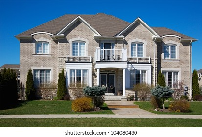 A Really Expensive Home in Suburban Area in Ontario, Canada