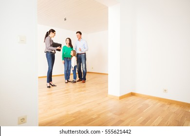 Realtor Showing Customers An Apartment