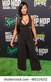Realty Star CardIi B. attends the 2016 BET Hip Hop Awards in Atlanta Georgia September 17, 2016 at the Cobb Energy Performing Arts Center