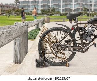Motorized Bicycle Images, Stock Photos & Vectors | Shutterstock