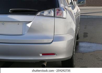 Rear light closeup