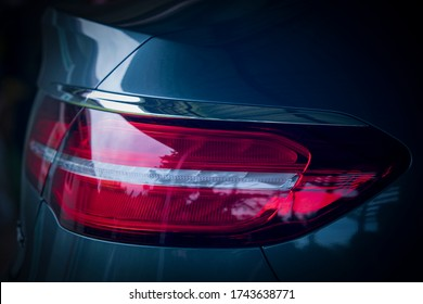 Rear light of luxury cars, car details,Modern car details