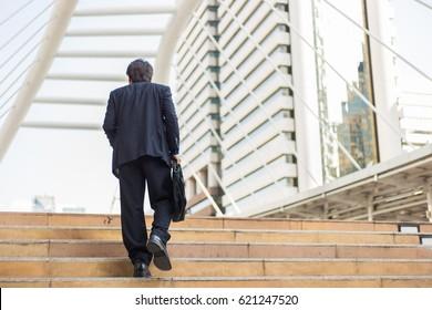 Bbw walking upstairs