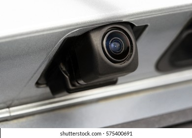 Rear view camera, car exterior