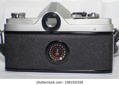 rear view of a Minolta SR-1 35mm camera