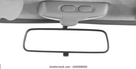 rearview mirror of automobile