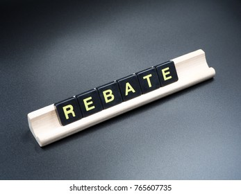 Rebate single word