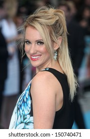 Rebecca Ferdinando arriving for the 'We're The Millers' European Premiere, Odeon West End, London. 14/08/2013