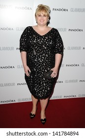 Rebel Wilson arriving for the 2013 Glamour Women of The Year Awards, Berkeley Square, London. 04/06/2013