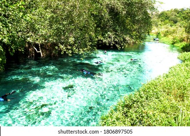 Recanto Ecológico Rio da Prata / Natural beauties of the touristic city of Bonito MS, Brazil.