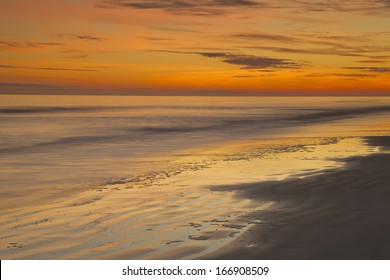 """Receding Tide"" Dusk on Hilton Head Island SC."