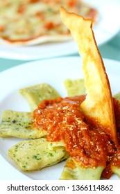 Receita de Agnolotti, Mexican cuisine