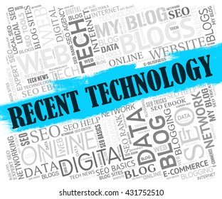 Recent Technology Representing Web Site And Online