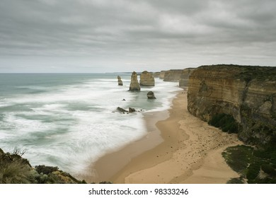 Recently, one of 12 apostles collapsed due to natural erosion and now 7 apostles remained