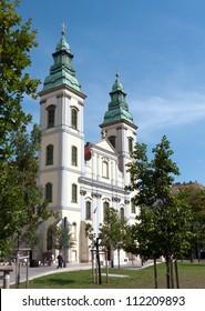 The recently renovated Inner City Parish Church in Budapest, Hungary