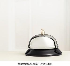 Reception Bell on desk