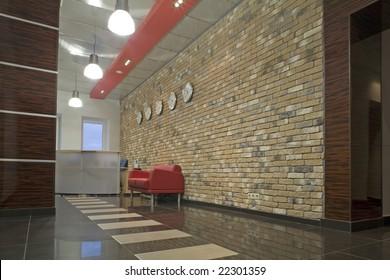 reception in establishment