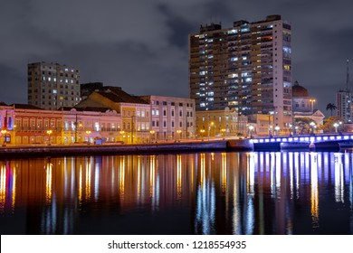 Recife, the Brazilian Venice, bathed by the Capibaribe River and its beautiful buildings.