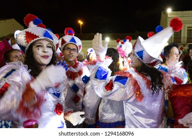 Recife, Pernambuco, Brazil, in February 2017. Culture Popular. Carnival. Lyrical block. Frevo: manifestation of the popular culture of Pernambuco.