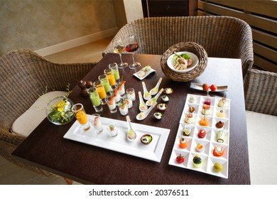 Recipes for a catering