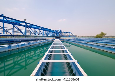 Recirculation solid contact Clarifier sedimentation tank of Water treatment plant