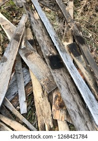 reclaimed salvage boards from skids