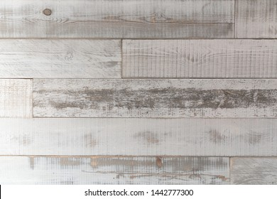 Reclaimed white wood background texture