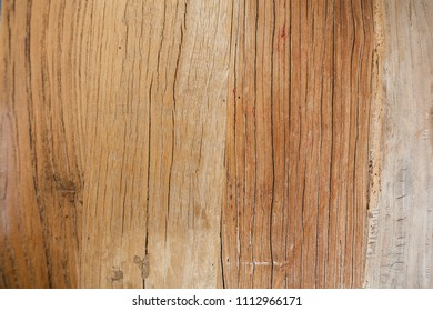 Reclaimed wood background texture closeup