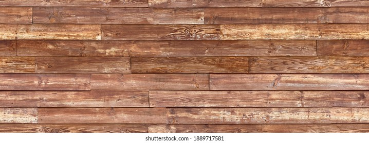 Reclaimed Wood Wall Paneling texture. Old wood plank texture background. Seamless texture. Perfect tiled on all sides.