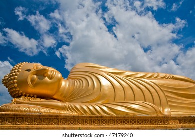 Reclining Buddha image, south of Thailand