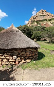 reconstitution of a zulu village in south africa