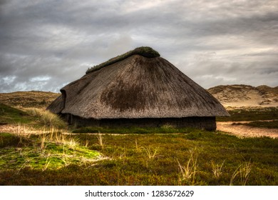 Reconstruction of a glacial House on Amrum in Germany