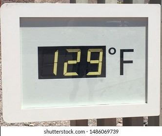 Record heat wave in the desert