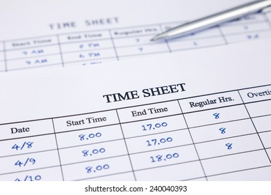time sheet images stock photos vectors shutterstock