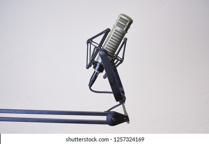 Recording a podcast or audiobook? Hop into the audio booth and start recording with this high-end microphone.