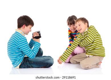 Recording siblings fun