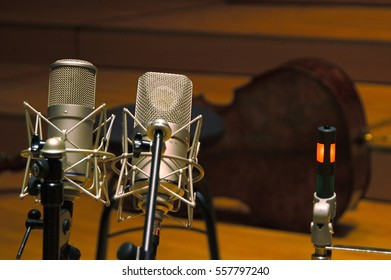 recording studio microphone tube