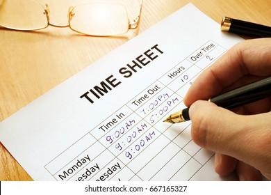 timesheet images stock photos vectors shutterstock