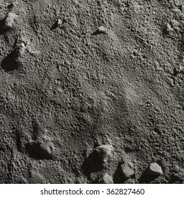 RECREATED MOON AND MARS SURFACE TEXTURE WITH ROCKS AND DEEP LONG SHADOWS