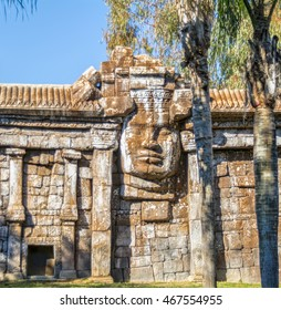 Recreation of Cambodian temple of Angkor in Andalusia