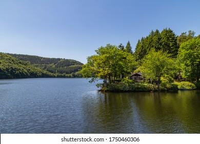 Erholung zu Hause in Rursee in der Eifel Deutschland
