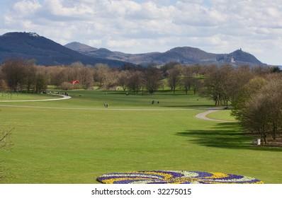 recreation park in bonn, germany