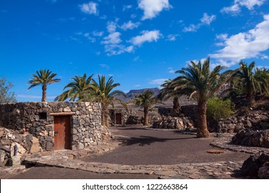 Recreational center La Palmita, Agaete, Gran Canaria.