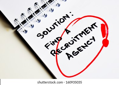 Recruitment agencies