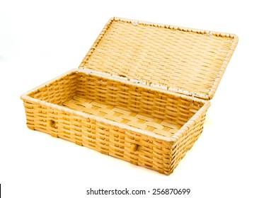 A Rectangle Basket (Hamper)