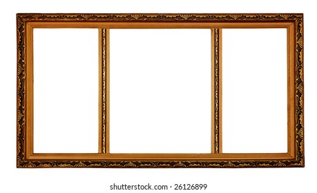 Rectangular 3 part Decorative Picture Frame